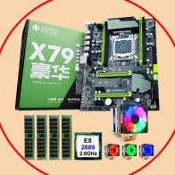 28366.14 руб. |HUANANZHI X79 Pro Материнская плата со скидкой X79 LGA2011 материнская плата с разъемом M.2 cpu Xeon E5 2689 с кулером ram 64G (4*16G)-in Материнские платы from Компьютер и офис on Aliexpress.com | Alibaba Group - Xeon 2689