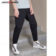 1330.7 руб. 45% СКИДКА|JackJones мужские летние хлопковые спортивные брюки на шнурке деловые повседневные Стрейчевые Узкие классические брюки мужская одежда 218314540 219114565-in Узкие брюки from Мужская одежда on Aliexpress.com | Alibaba Group