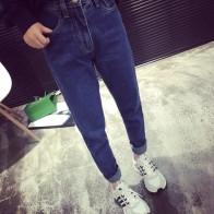 1302.36 руб. |Miss Fox Gloria Boyfriend деним Винтаж джинсы для женщин женские Feminino для мотобрюки плюс размеры одежда Высокая талия повседневные штаны купить на AliExpress