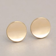 Oly2u 2017 Summer New Fashion Shiny Geometric Jewelry Round Stud Earrings for Women Party Earrings