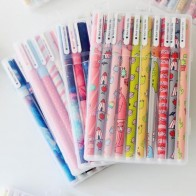 141.9 руб. 29% СКИДКА|10pcs 6pcs kawaii flower colorful Chancery gel pen papelaria office school supplies stationary canetas coloridas color pen 04083-in Гелевые ручки from Офисные и школьные принадлежности on Aliexpress.com | Alibaba Group