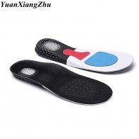 US $1.95 30% OFF|1Pair Silicone Insoles for Shoes Insole arch support Unisex Thickening Shock Absorption Sport Shoes Pads Comfortable Soft Insole-in Insoles from Shoes on AliExpress