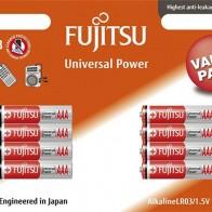 Батарейка щелочная Fujitsu Universal Power, 98390, тип ААА — купить в интернет-магазине OZON с быстрой доставкой