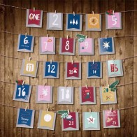 US $9.52 20% OFF|Christmas Advent Calendar Paper Bag Decorations Xmas Hanging Ornaments Home Decor Happy New Year 2020 Children Christmas Gift-in Advent Calendars from Home & Garden on AliExpress - 11.11_Double 11_Singles