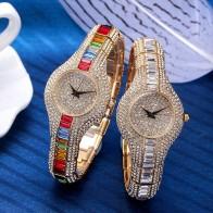 3274.01 руб. |Miss fox часы Полный алмаз моды кварцевые часы женские 50 м водонепроницаемый золотой браслет дамы стол high end женские наручные часы-in Повседневные часы from Ручные часы on Aliexpress.com | Alibaba Group