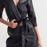 Женское платье Dilvin ME-101A09204_Siyah - платье на новый год