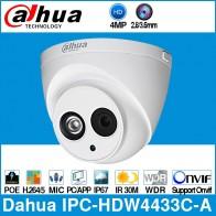 3170.79 руб. 24% СКИДКА|Dahua IPC HDW4433C A 4 МП HD POE, сетевые Starnight Инфракрасный мини купол ip камера Встроенный микрофон камера onvif CCTV заменить IPC HDW4431C A-in Камеры видеонаблюдения from Безопасность и защита on Aliexpress.com | Alibaba Group