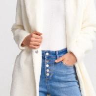 Женское пальто Dilvin ME-101A06760_Ekru - Пальто пастельных тонов