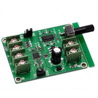 263.07 руб. 5% СКИДКА|5 В  В 12 В DC бесщеточный драйвер платы контроллера для жесткого диска двигателя 3/4 провода купить на AliExpress