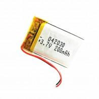 185.06 руб. 29% СКИДКА|Литий полимерный аккумулятор 3,7 В, 402030 042030 200 мАч могут быть выполнены по индивидуальному заказу оптовая продажа CE FCC ROHS MSDS сертификат качества-in Подзаряжаемые батареи from Бытовая электроника on Aliexpress.com | Alibaba Group