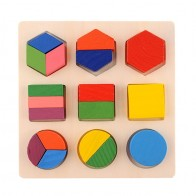 194.87 руб. |Ранние развивающие деревянные трехмерные игрушки геометрическая форма детские деревянные строительные блоки игрушки WJ472-in Блоки from Игрушки и хобби on Aliexpress.com | Alibaba Group