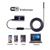 639.52 руб. 39% СКИДКА|8 мм объектив HD 720 P Wifi эндоскоп камера с 1 м 2 м 3,5 м 5 м 10 м мягкий и жесткий провод Водонепроницаемая Инспекционная камера для Android IOS iPhnoe-in Камеры видеонаблюдения from Безопасность и защита on Aliexpress.com | Alibaba Group