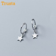 € 1.8 35% de DESCUENTO|Trusta 2018 100% sólido Plata de Ley 925 estrella pequeños pendientes para niñas adolescentes regalo mujeres joyería de moda DS900-in Aretes from Joyería y accesorios on Aliexpress.com | Alibaba Group