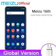 22089.0 руб. |Meizu 16th глобальная версия 6 GB 64 GB мобильный телефон Snapdragon 845 Octa Core 16 th смартфон FHD большой экран двойная задняя камера-in Мобильные телефоны from Мобильные телефоны и телекоммуникации on Aliexpress.com | Alibaba Group