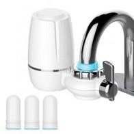 7 слоев очищающий керамический фильтр для водопроводной воды очиститель кухонный кран прикрепить и 3 шт фильтрующие картриджи Percolator