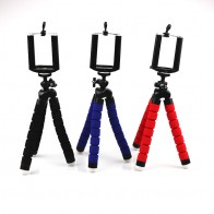 US $2.95 26% OFF|Mini Flexible Sponge Octopus Tripod for iPhone Samsung Xiaomi Huawei Smartphone Tripod Stand Holder for Gopro Camera DSLR Mount-in Live Tripods from Consumer Electronics on Aliexpress.com | Alibaba Group
