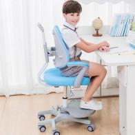 10255.14руб. 34% СКИДКА|Детский письменный стул для учащихся начальной школы, обучающее кресло, компьютерное кресло, домашнее регулируемое подъемное и сидящее кресло-in Детские стулья from Мебель on AliExpress