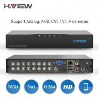 7336.17 руб. 34% СКИДКА|H. View 16ch видеонаблюдение NVR видео Регистраторы CCTV DVR для домашной безопастности Поддержка 4 TB, SATA, HDD 1080 P видео Выход H.264 DVR-in Видеорегистратор для видеонаблюдения from Безопасность и защита on Aliexpress.com | Alibaba Group