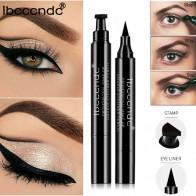 IBCCCNDC бренд макияж Черный жидкая подводка для глаз карандаш Быстросохнущий водостойкий черный двухсторонний макияж марки крыло подводка для глаз карандаш купить на AliExpress