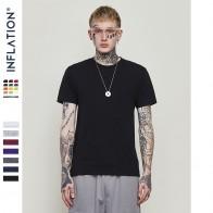 587.21 руб. 49% СКИДКА|Inflation xxxl 180 г мода мужчины футболки 100% хлопок o образным вырезом мужская обычная футболка 25 сплошные цвета с коротким рукавом футболка-in Футболки from Мужская одежда on Aliexpress.com | Alibaba Group