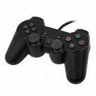 348.12 руб. 10% СКИДКА|Универсальный проводной контроллер 2 шок дистанционного Джойстик Геймпад для Игровые приставки 2 PS2 геймпады купить на AliExpress