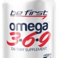 Купить Омега жирные кислоты Be First Omega 3-6-9 (90 шт.) без вкуса по низкой цене с доставкой из маркетплейса Беру