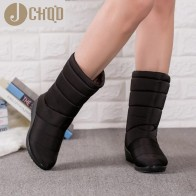 US $12.33 33% OFF|JCHQD Winter  Women Boots Mid Calf Down Boots Girls Winter Shoes Woman Plush Insole Botas Female Waterproof Ladies Snow Boots-in Mid-Calf Boots from Shoes on Aliexpress.com | Alibaba Group