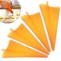 Многоразовый силиконовый кондитерский мешок, инструменты для украшения торта, кекс «сделай сам», новые кондитерские сумки, кухонные Кондит... - Принадлежности для выпечки