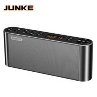 JUNKE HIFI Bluetooth стерео динамик Портативный беспроводной супер бас двойной Саундбар с микрофоном TF USB FM радио USB звуковая коробка колонка