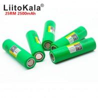 164.14 руб. 33% СКИДКА|Liitokala 18650 2500 mah INR1865025R 20A разрядный литий батареи электронных сигарет Батарея 18650 2500 25R-in Подзаряжаемые батареи from Бытовая электроника on Aliexpress.com | Alibaba Group