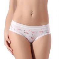 Нижнее белье Calcinha женское, хлопковые трусы карамельных цветов для повседневной носки, #023