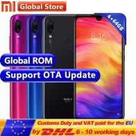 € 155.18 |Global ROM Xiaomi Redmi Note 7 4 GB 64 GB teléfono Snapdragon 660 Octa Core 4000 mAh 6,3