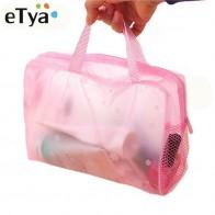47.03 руб. 30% СКИДКА|ETya 5 цветов Make Up Organizer Bag туалетные принадлежности сумка для хранения Женская водостойкая прозрачная цветочная пвх дорожная косметичка купить на AliExpress