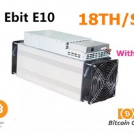48519.76 руб. |Используется Asic BTC BCH Miner Ebit E10 18 T с официальной PSU лучше чем Antminer S9 S9j S11 S15 T15 WhatsMiner M3 M10 INNOSILICON T3-in Блок сеть/шахтер from Компьютер и офис on Aliexpress.com | Alibaba Group