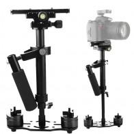 2717.84 руб. 20% СКИДКА|S40 + 0,4 м 40 см Алюминий сплава ручной переносной штатив стедикам стабилизатор для стэдикама для Canon Nikon цифровой зеркальный фотоаппарат AEE купить на AliExpress