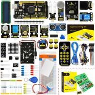3105.4 руб. 5% СКИДКА|KS0079 Keyestudio Super Starter Kit/обучающий комплект с Mega2560R3 для образовательного проекта Arduino + PDF (онлайн) + 32 проекта + подарочная коробка-in Интегральные схемы from Электронные компоненты и принадлежности on Aliexpress.com | Alibaba Group