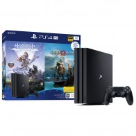 Игровая консоль PlayStation 4 Pro 1TB Black+Horizon Zero Dawn/God Of War
