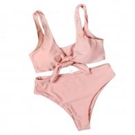285.37 руб. 29% СКИДКА|Женская одежда для плавания, розовый однотонный купальный костюм для женщин, сексуальный элегантный танкини, купальный костюм, женский купальник с бантом из двух частей, женский купальный костюм-in Комбинезоны from Спорт и развлечения on Aliexpress.com | Alibaba Group