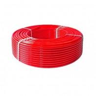 Купить Труба для теплого пола PE-RT тип II, 16x2мм, красный (200м) Valfex в Ульяновске - Трубы из сшитого полиэтилена