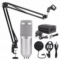 1922.52 руб. 16% СКИДКА|Профессиональный BM 800 караоке микрофон конденсаторный микрофон наборы Комплект Mikrofon для компьютера микрофона для аудио вокальной записи-in Микрофоны from Бытовая электроника on Aliexpress.com | Alibaba Group