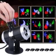787.14 руб. 49% СКИДКА|Lumi вечерние 6 типов праздничное украшение сценический свет Рождественская вечеринка лазер снежинка проектор Открытый светодио дный светодиодный диско свет jk25 купить на AliExpress