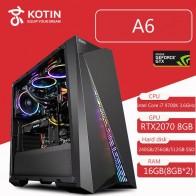 124176.56 руб. |Kotin Intel Core i7 9700 к 3,6 ГГц игровой ПК настольный Z390 RTX 2070 8 Гб GDDR6 GPU 16 оперативная память компьютер ATX Mid башня водяного охлаждения-in Настольные ПК from Компьютер и офис on Aliexpress.com | Alibaba Group
