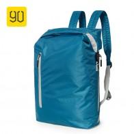 640.18 руб. 30% СКИДКА|Xiaomi 90FUN легкий рюкзак складные сумки спортивные дорожные водонепроницаемые повседневные Рюкзаки для женщин и мужчин 20L синий/черный-in Рюкзаки from Багаж и сумки on Aliexpress.com | Alibaba Group