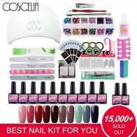 US $18.83 35% OFF|Full Manicure Set With Lamp 24/36W Gel Nail Polish Set Tools For Manicure Set For Nail 10pc Gel Polish All For Manicure Nail Art-in Sets & Kits from Beauty & Health on Aliexpress.com | Alibaba Group