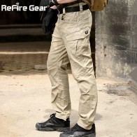 US $29.47 33% OFF|ReFire Gear SWAT Combat Military Tactical Pants Men Large Multi Pocket Army Cargo Pants Casual Cotton Security Bodyguard Trouser-in Cargo Pants from Men