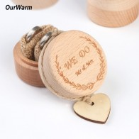 US $2.52 30% OFF|Ourwarm 5x5x4cm Wood Ring Box Wedding/Valentines Engagement Wooden Ring Bearer Box Rustic Wedding Ring Box Holder No Engravings -in Party DIY Decorations from Home & Garden on Aliexpress.com | Alibaba Group