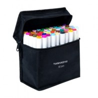 Художественный маркер 30/40/60/80/168 цветов, маркеры на спиртовой основе, двухголовые эскизные маркеры, кисть для рисования, манга, дизайн, товары...