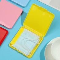 1 шт. коробка для хранения одноразовых масок, коробка для хранения масок, портативная квадратная коробка, сумка для сохранения масок, домашн... - Футляры для масок
