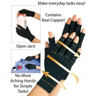 US $1.83 19% OFF|Copper Hands Arthritis Gloves Therapeutic Compression Men Woman Circulation Grip 2018-in Wrist Support from Sports & Entertainment on Aliexpress.com | Alibaba Group