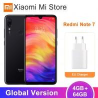 11442.69 руб. |В наличии глобальная версия Xiaomi Redmi Note 7 4 GB 64 GB мобильный телефон Snapdragon 660 48MP + 13MP камера 6,3